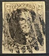 OBP 10 Medaillon 10c - P182 Grote Baren LEDE - Grote Luxe - 1858-1862 Medaillen (9/12)