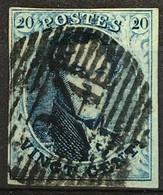 OBP 11 Medaillon 20c - P24 BRUXELLES - 1858-1862 Medaillen (9/12)