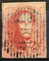 OBP 12 Medaillon 40c - P150 RUYSBROECK - 1858-1862 Medaillen (9/12)