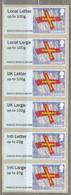 GUERNSEY  Post & Go: Guernsey Flag UK Letter 2015 MNH (**) #21491 - Guernsey