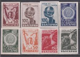 Bulgaria 1945 - Emprint De La Liberation, YT 448/55, Neufs** - Nuevos