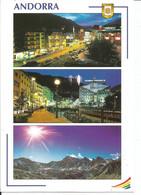 Postcard - 2008 - Andorra - Views Of Andorra La Vella & The Principality - Posted To Ireland 0.65€ Stamp - Andorra