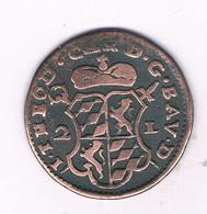 2 LIARDS 1751 PRINSDOM LIEGE  (theodor De Baviere) BELGIE /1897/ - ...-1831