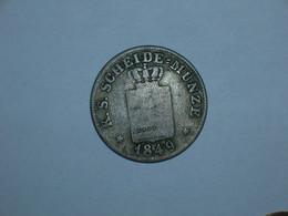 ALEMANIA/SAJONIA 2 GROSCHEN 1849 (4553) - Piccole Monete & Altre Suddivisioni