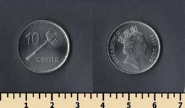 Fiji 10 Cents 2009 - Figi