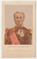 CHROMO Librairie Universelle D'Alfred Duquesne Vice Amiral Jurien De La Gravière Uniformes Célébrités Militaria - Andere