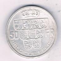 50 FRANC 1940 FR (mintage 631000 Ex) BELGIE/1900/ - 08. 50 Franchi
