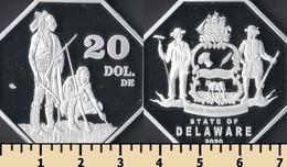 Delaware 20 Dollars 2020 - Non Classificati
