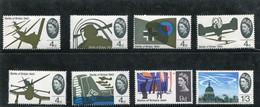 GREAT BRITAIN - 1965  B.O.B.  PHOSPHOR  SET  MINT NH - Unused Stamps