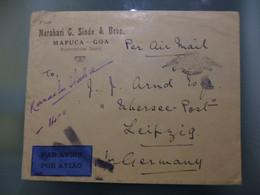INDIA PORTUGUESA - INTERRUPÇÂO DE SERVIÇO AÉREO - Portuguese India