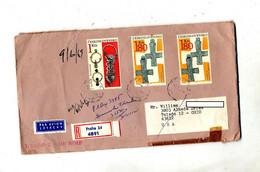 Lettre Recommandée Prague Sur Bijou - Cartas