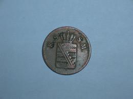 ALEMANIA/SAJONIA 1 PFENNIG 1859 F (4563) - Piccole Monete & Altre Suddivisioni