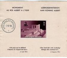 M/s, 1938, King Albert Monument - Cartas