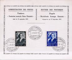 M/s, 1937, Muziekfonds Queen Elizabeth - Cartas