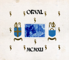 Sheet - Orval UMM Perf (minor Marks On The Reverse, Front Unaffected) - Cartas