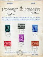 Sheet - Music Fund Queen Elizabeth 1940 (slight Wear; Numbered 22431) - Cartas