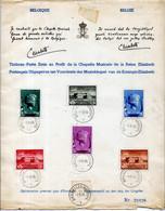 Sheet - Music Fund Queen Elizabeth 1940 (slight Wear; Numbered 22428) - Cartas