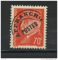 FRANCE -  PRÉOBLITÉRÉ - N° Yvert  84** - 1893-1947