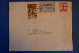 L18 MAROC BELLE LETTRE  1952 CASABLANCA POUR ST FELIX FRANCE +AFFRANCH INTERESSANT - Briefe U. Dokumente