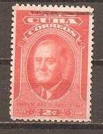 Cuba - Yvert  298 (usado) (o) - Oblitérés