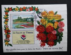 France Oblitération Cachet à Date BF N° 16 (2909 Et 2910) Salon Du Parc Floral - Oblitérés