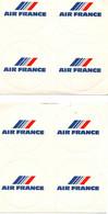 AIR FRANCE-  LOT 8 AUTOCOLLANTS - Adesivi