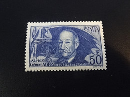 K46877 - Stamp MNH France 1938 - SC. 348 -  Clement Ader - Ongebruikt