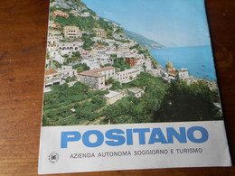 Italie Positano Depliant Touristique  1965? - Tourism Brochures