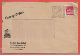 ALLEMAGNE LETTRE OBLITERATION TENNIS GOLF DE 1968 DE BADEN BADEN - Cartas