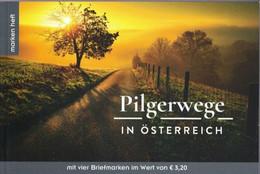Pelgrimswegen 4 Specialmarken 2019 - 2011-... Nuevos & Fijasellos