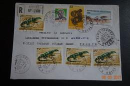 Lettre En Recommandée De MOUNDOUTINGRELA COTE IVOIRE TTB - Lettres & Documents