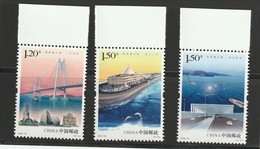 "China 2018-31 ""The Hong Kong-Zhuhai-Macao Bridge *** MNH - Nuevos"