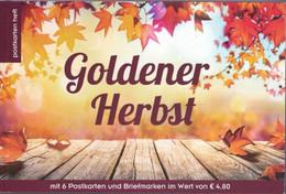 Goldenen Herfst 6 Specialmarken En Kaarten 2018 - 2011-... Nuevos & Fijasellos
