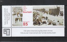 Schweiz Gestempelt  150 Jahre Internierung Bourbaki -Armee Februar 1871 - Gebraucht