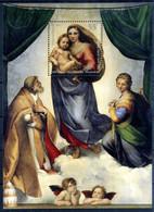 EMISSIONE CONGIUNTA Vaticano - 2012 REP. FED. TED. BF MNH ** Madonna Sistina - Errors & Oddities