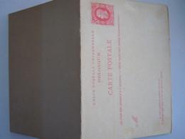 Belgique Entier Carte Briefkaart Leopold II Nr. 16 10 + 10 C 1879 - Postales [1871-09]