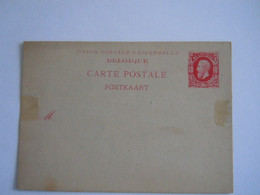 Belgique Entier Carte Briefkaart Leopold II Nr. 18 10 C 1885 - Postales [1871-09]