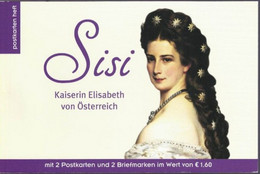 Sisi Kaiserin Elisabeth 2 Specialmarken En Kaarten 2019 - 2011-... Nuevos & Fijasellos