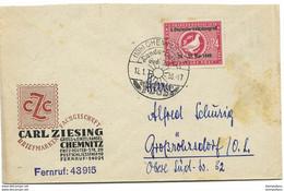193 - 23 - Enveloppe Avec Cachet Illustré De Chemnitz 1950 - Zona Soviética