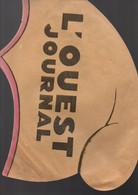 Chapeau En Papier Publicitaire L'Ouest Journal- Format : 37x20 Cm - Casquettes & Bobs
