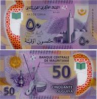 MAURITANIA       50 Ouguiya       P-22       28.11.2017 (2018)       UNC - Mauritania