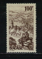 SARRE -Yvert N° 262 - Unused Stamps