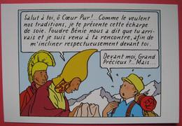 CP Tintin. Tintin Au Tibet. Moulinsart N° 069 - Comics