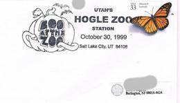 USA - Sonderstempel - Hogle Zoo - Salt Lake City - Marke Schmetterling, Butterfly - Sin Clasificación