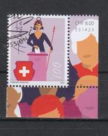 Schweiz  Gestempelt    50 Jahre Frauen Stimm- Und Wahlrecht Neuausgabe 4.3.2021 - Gebraucht