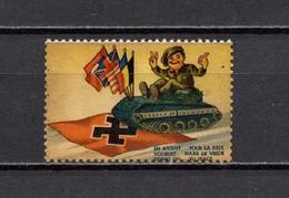 Anti-Hitler Propaganda Cinderella Poster Vignette Postfrisch - Erinofilia