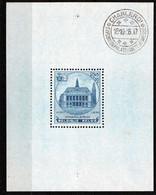 M/Sheet - Charlerlois, 1936, UMM - Cartas