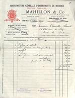 Manufacture D'Instruments De Musique Mahillon & Co Bruxelles 1920 (violon D'artiste) - 1900 – 1949