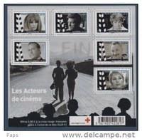 2012-N°F4690**(4690/4695) GRANDS NOMS DU CINEMA - Nuevos