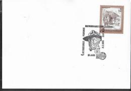 """AUSTRIA - SCOUTISMO -  ANNULLO SPECIALE """" 4° INTERNATIONALE PFADFINDER BRIEFMARKENNAUSSTELLUNG -21.3.1983 - 1981-90 Cartas"""